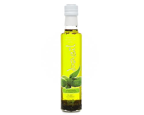 Najwyższej jakości oliwa z oliwek Extra Virgin z bazylią