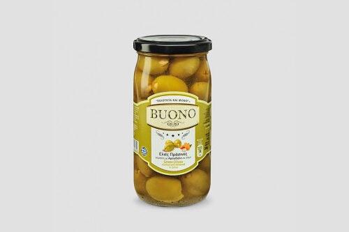 Zielone oliwki z migdałami Buono