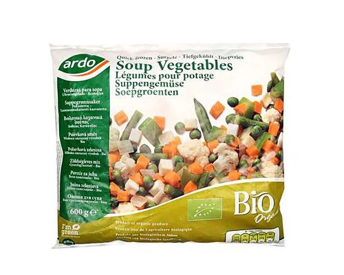 Bio warzywa mrożone do zupy