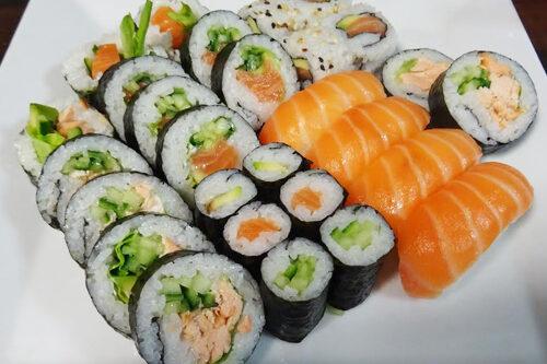 Sushi zestaw mix 28 sztuk